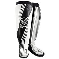 Hayabusa Ikusa Recast MMA Shin Guards Black/White