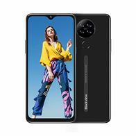 Blackview A80 Moviles Libres 4G Android 10 GO con 6.21'' HD+ Water-Drop Screen, Cámara Trasera Cuádruple 13MP, Teléfono Móvil 2GB+16GB (SD 128GB), Batería 4200mAh Smartphone Libre, Face ID/GPS-Negro