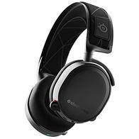 SteelSeries Arctis 7 Auriculares De Juego, Inalámbricos Sin Pérdidas, Dts Headphone: X V2.0 Surround Para PC, Playstation 5 y PlayStation 4 - Negro
