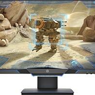 HP 25mx – Monitor de juegos de 25'' FHD (1920 x 1080 a 144Hz, TN, 1ms, HDMI, Antirreflejo, Low Blue Light, Iluminación Ambiental, Altura e Inclinación Ajustables) Negro