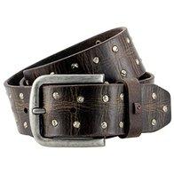 mann - Cinturón de cuero para hombre / cinturón para hombre pierre cardin, 70127 marrón oscuro, tamaño / tamaño: 85; color / color: marrón